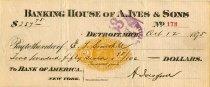 Image of 1958.016.056 - Check, Bank