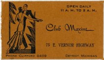 Image of 1964.285.003 - Card, Business