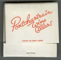 Image of 2013.041.789 - Matchbook