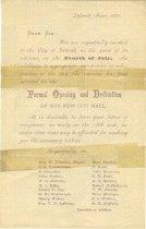 Image of 1958.091.003 - Invitation