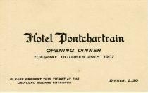 Image of 1962.186.035 - Invitation