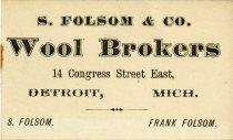 Image of 1952.377.006 - Card, Trade