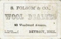 Image of 1953.069.003 - Card, Trade