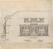 Image of 1981.021.041 - Drawing, Architectural