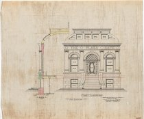 Image of 1981.021.097 - Drawing, Architectural