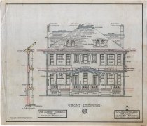 Image of 1981.021.090 - Drawing, Architectural