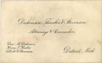 Image of 1956.008.018 - Card, Business