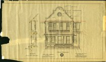 Image of 1981.021.050 - Drawing, Architectural