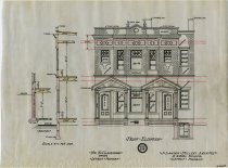 Image of 1981.021.064 - Drawing, Architectural