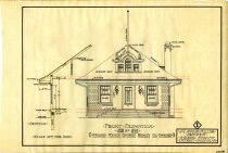 Image of 1981.021.069 - Drawing, Architectural