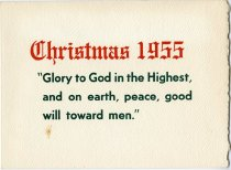 Image of 1976.044.002 - Card, Holiday