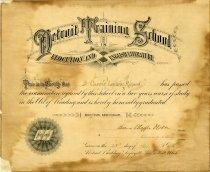 Image of 1955.356.002 - Diploma
