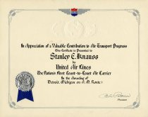 Image of 1963.148.042 - Certificate, Achievement