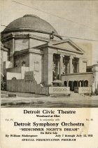 Image of 1953.249.002 - Program, Theater