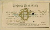 Image of 1932.034.020 - Card, Membership