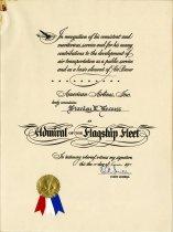 Image of 1963.148.041 - Certificate, Achievement