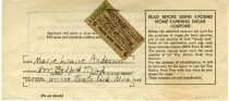Image of 1955.165.023 - Coupon, Ration