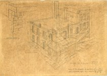 Image of 2000.021.001 - Drawing, Architectural