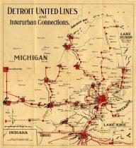 Streetcars Detroit Streetcar Map on