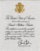 Image of 2014.088.016 - Certificate, Commemorative