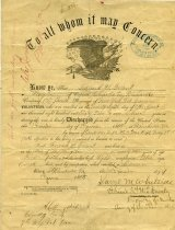 Image of 1947.229.001 - Discharge, Military