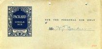 Image of 1986.016.001f - Envelope