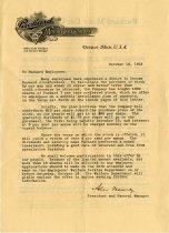 Image of 1991.041.002 - Correspondence