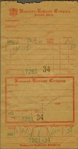 Image of 1947.135.996 - Receipt