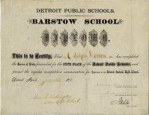 Image of 1960.188.001 - Diploma