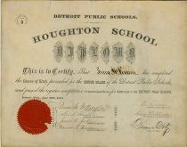 Image of 1969.112.005 - Diploma
