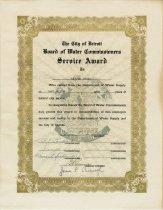 Image of 2016.067.034 - Certificate, Commemorative