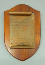 Image of 2016.156.009 - Plaque, Award