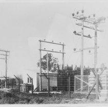 Image of 2011.500.310 - Photograph - Wairoa Substation Lines