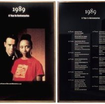 Image of 1989 - A Year in Anniversaries - Lewis, Mark