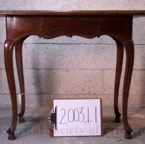 Image of 2003.1.1 - Table, Writing