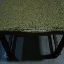 Image of detail chair seat front