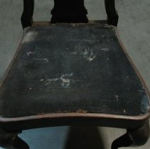 Image of detail seat from top