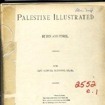 Image of Palestine Illustrated
