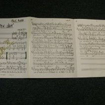 Image of Song Score Sheet