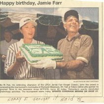 Image of 2004.16.12a-b - Newspaper Clipping