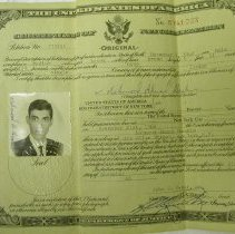Image of Certificate of Naturalization