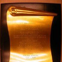 Image of 2007.29.01 - Plaque