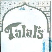 Image of Talal's Menu