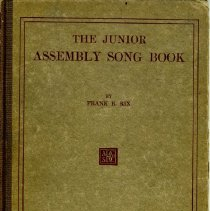 Image of Junior Assembly Song Book, cover