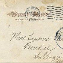 Image of Kalil's Rathskeller postcard, back