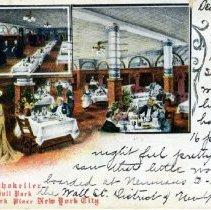 Image of Kalil's Rathskeller postcard, front