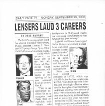 Image of 2004.07.03a - Newspaper Clipping