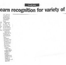 Image of 2004.10.09m - Newspaper Clipping