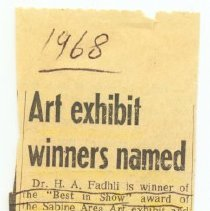 Image of 2004.10.09q - Newspaper Clipping