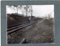 Image of 01782 - Steam engine and train